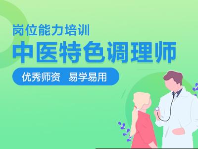 中医特色调理系列课(网课)