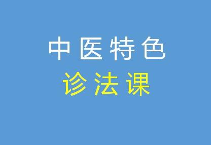 中医特色诊法课